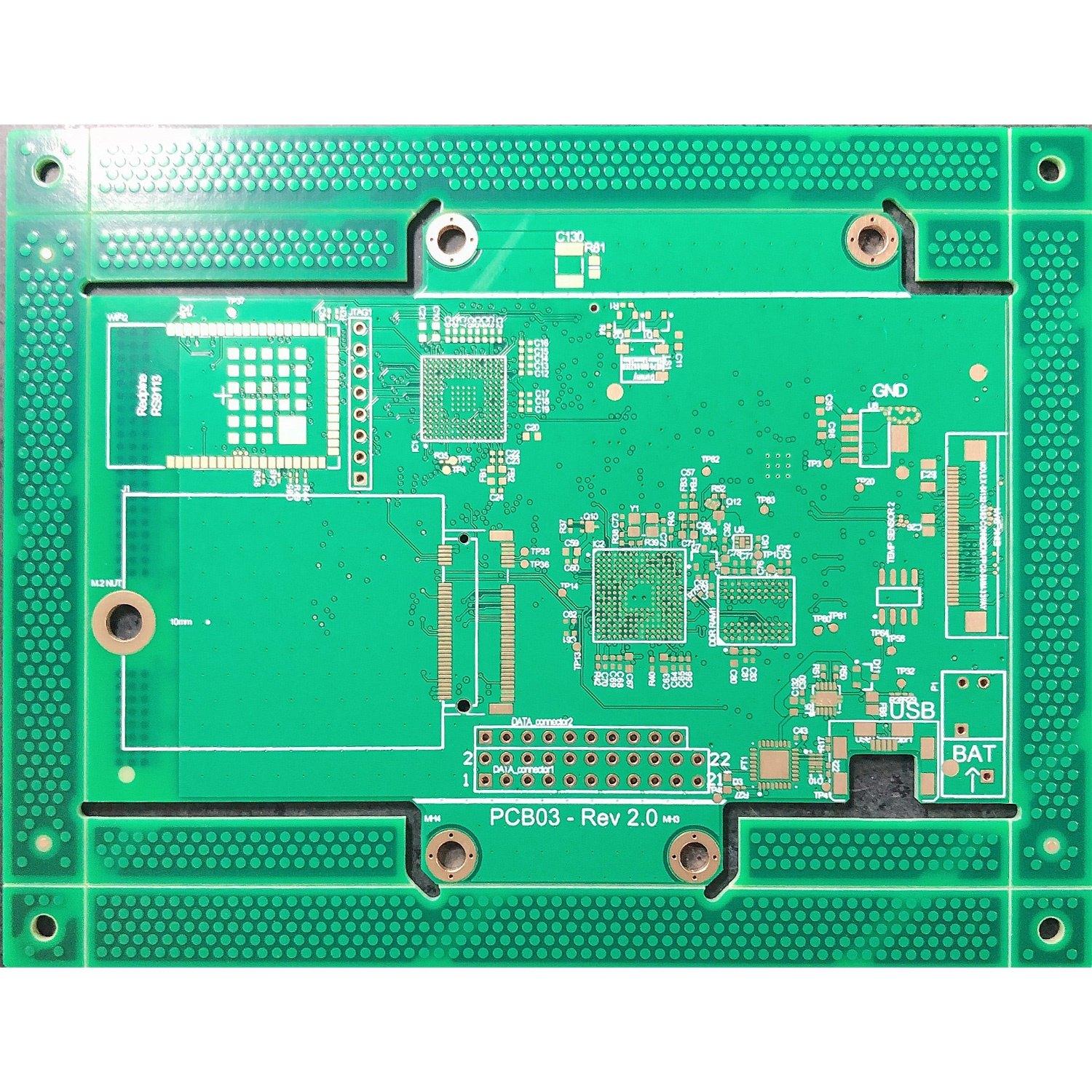 8 layer BGA board