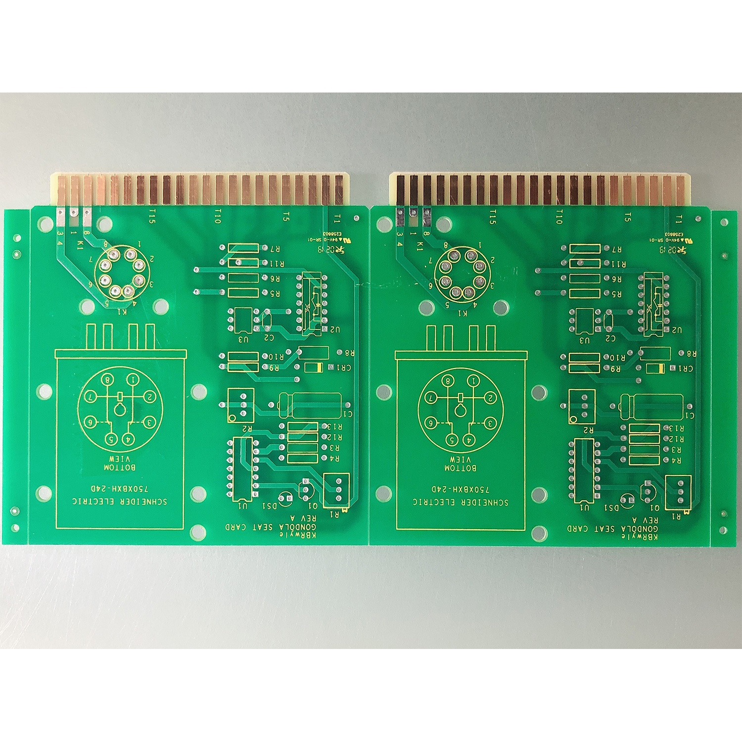 2L GOLD FINGER PCBs